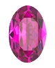 Swarovski 4128 Xilion Oval Fancy Stone 10x8mm Fuchsia (144 Pieces)